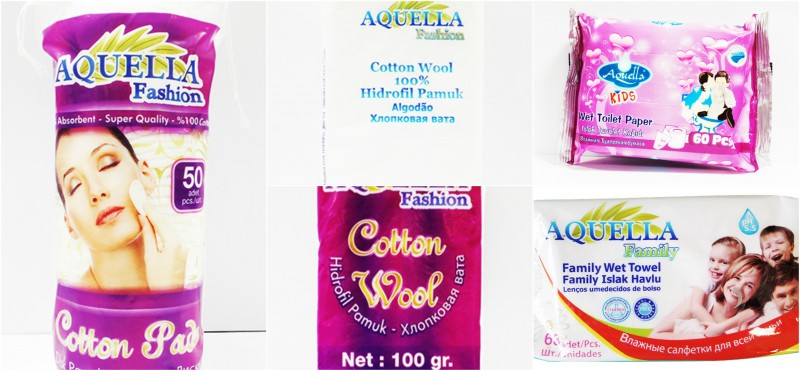 AQUELLA Products - Wet Towels, Kids Wet Toilet Papers, Cotton Pads
