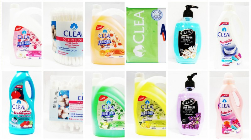 CLEA - Diapers, Wipes, Cotton Buds, Liquid Soap,Laundry Softener & Detergent