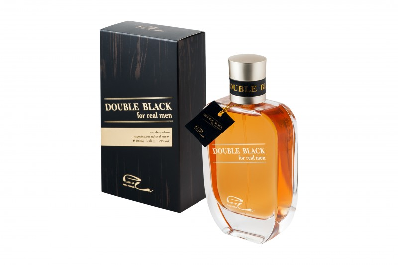 Double Black Perfume for Men - Eau de Toilette, 100ml
