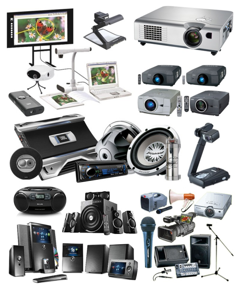 Audio, Video Equipment & Accessories