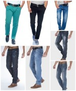 Denim, Sweat and Chino Pants for Men