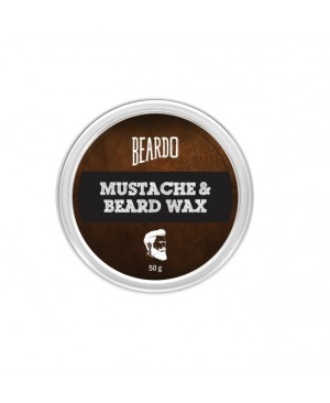 BEARDO Beard and Moustache Wax (50gms)