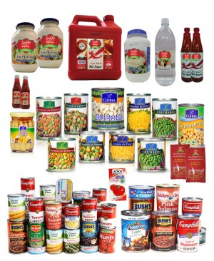 Canned & Packaged Food Products
