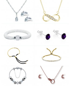 Crystal Jewelry Collections
