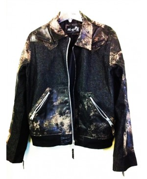 Denim /Leather Jackets in 2 styles